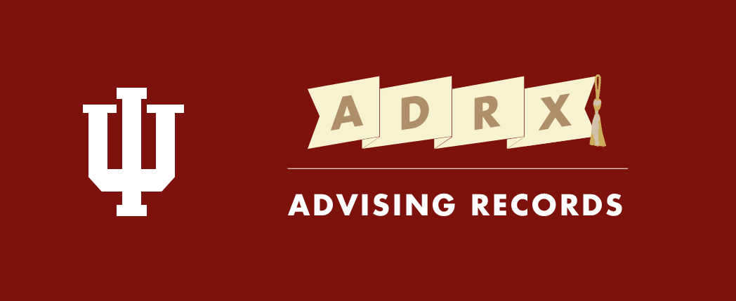ADRX Advising Records